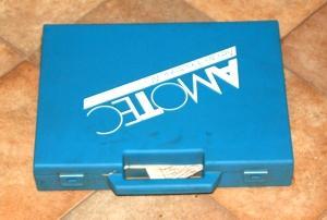 Blaue Schachtel