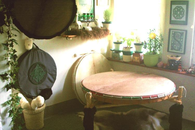 Trommeln in der Schamanenstube