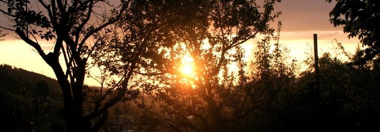 Sonnenuntergang über Appenzell