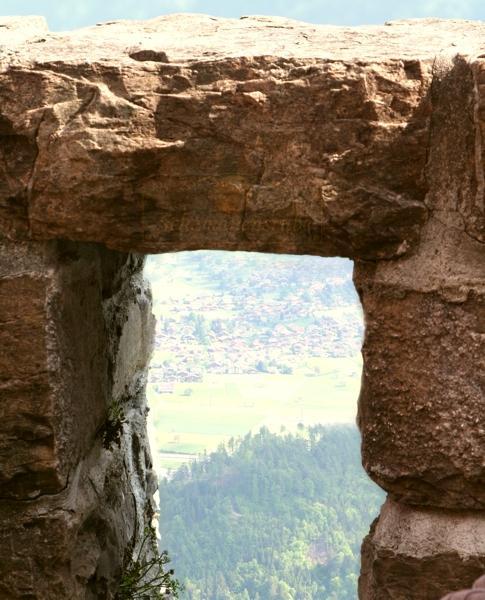 Ausblick Interlaken