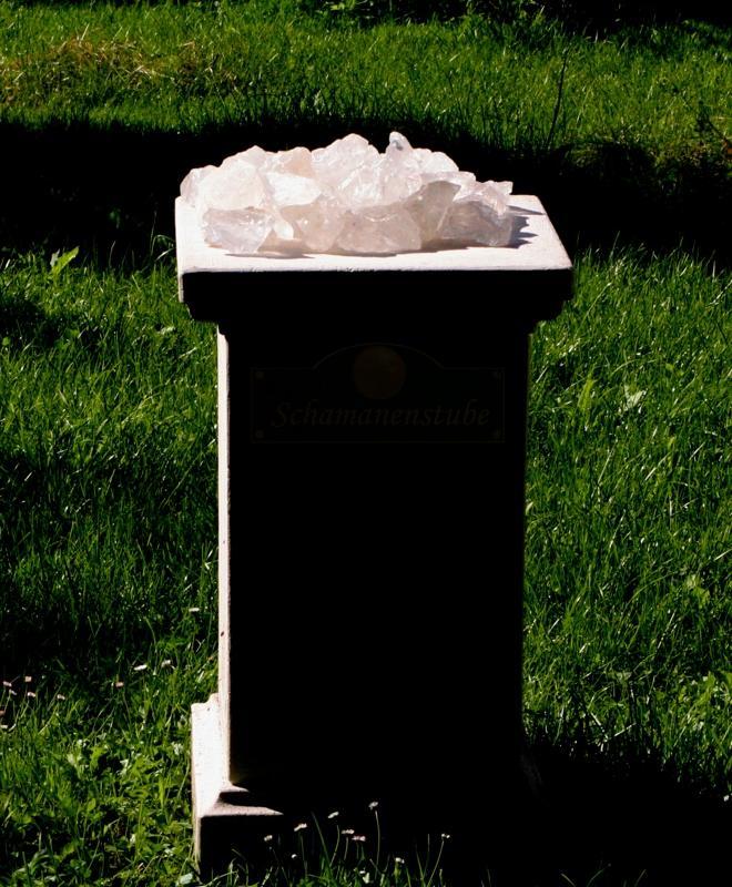 Bergkristall Säule