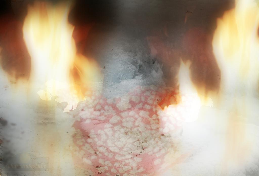Brennendes Wasser im Fliegenpilz