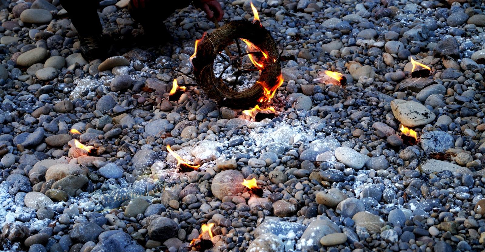 Feuerrad Ritual