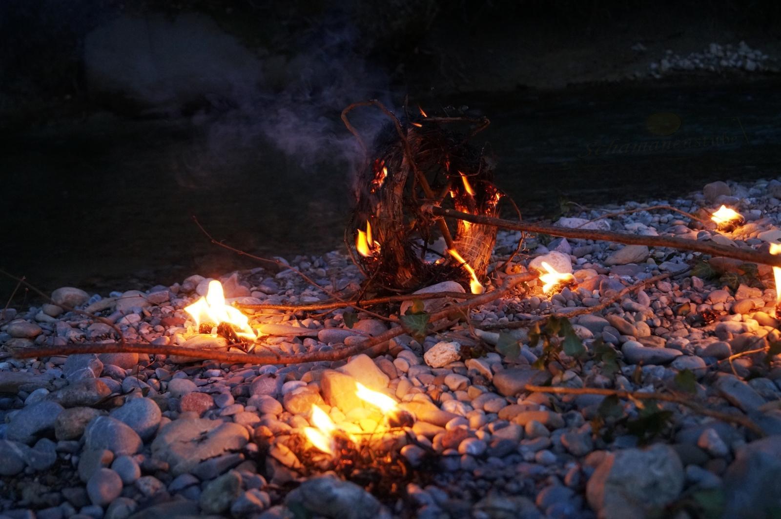 Feuerrad Ritual - Feuer