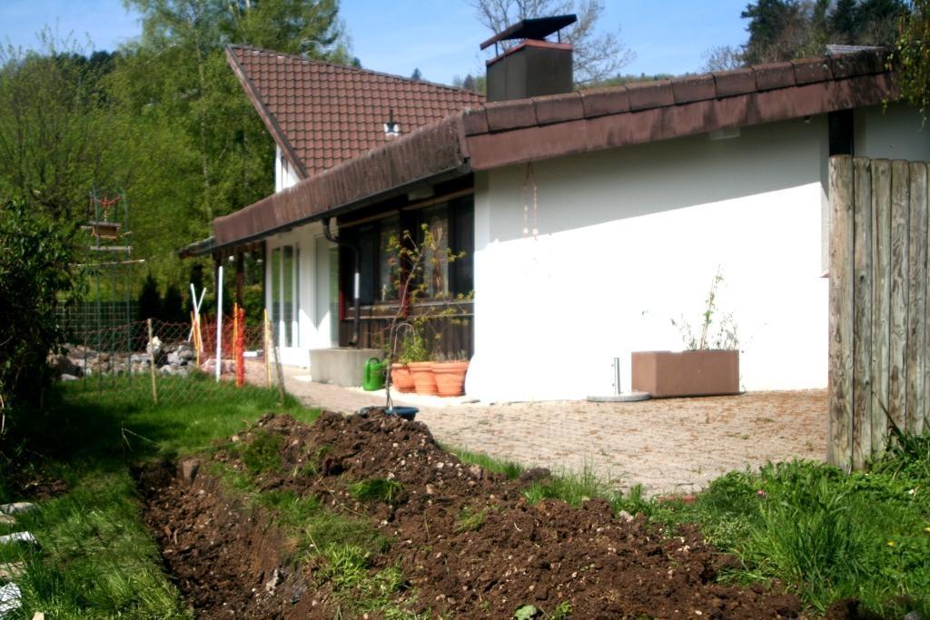 Gartenarbeit Schamanenstube: die Grube