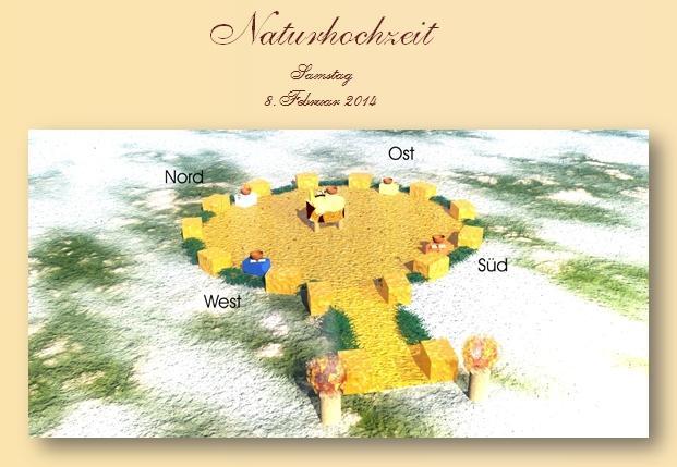Planung der perfektion Naturhochzeit
