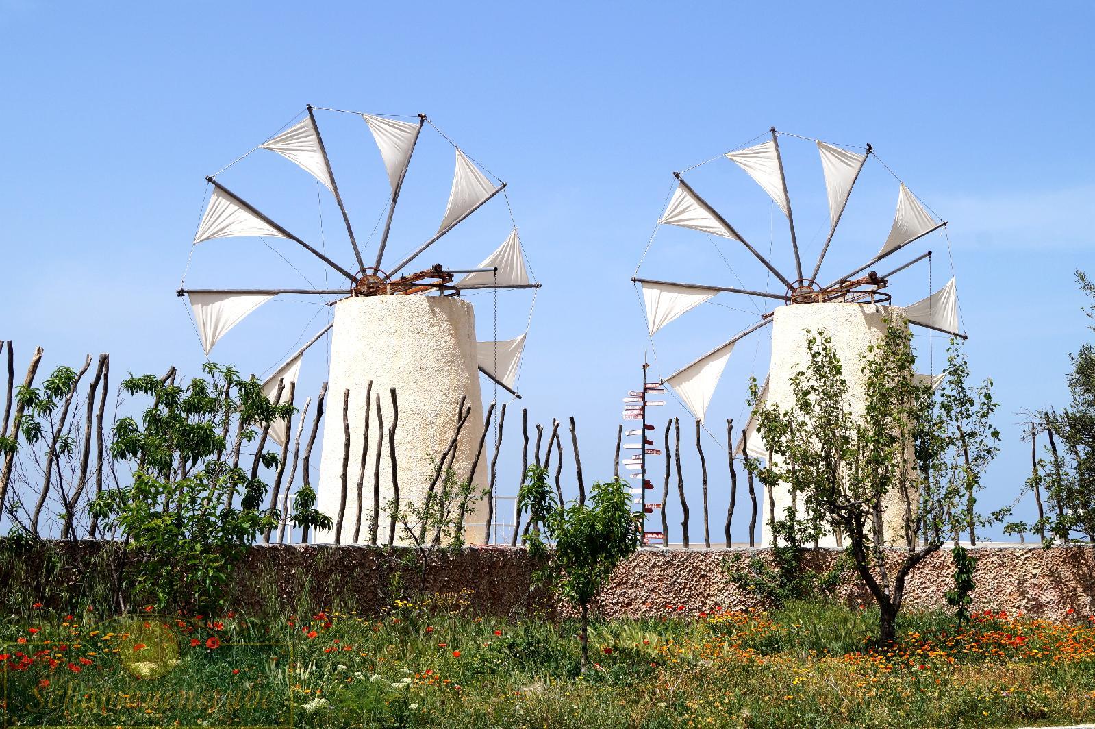 Windmühlen Kreta