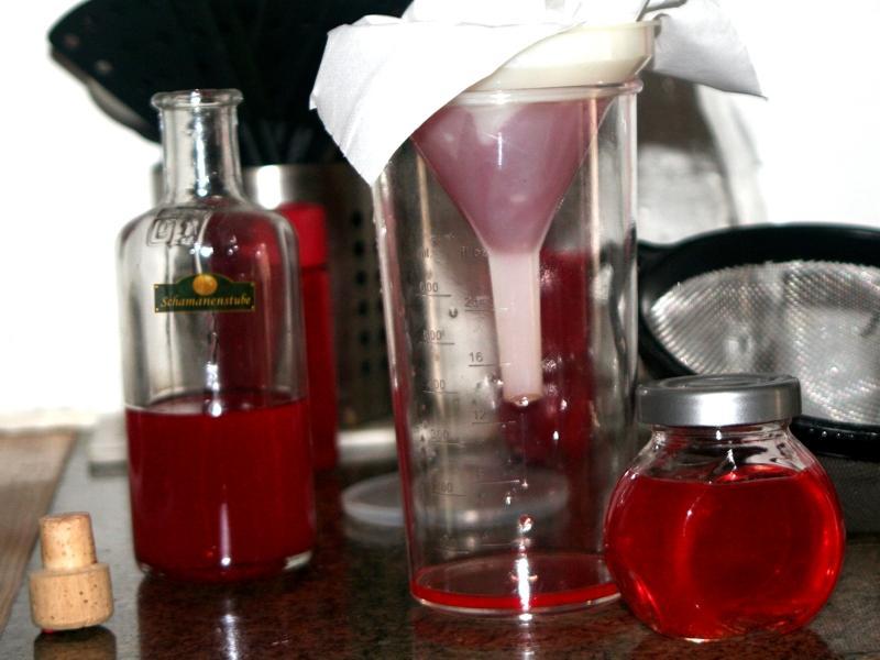 Herstellung Johanniskraut Oel