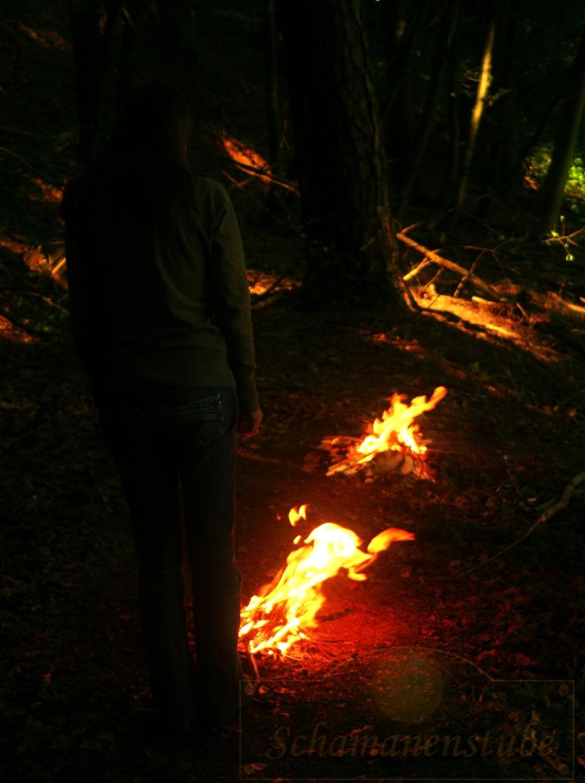 Litha Feuerzeremonie