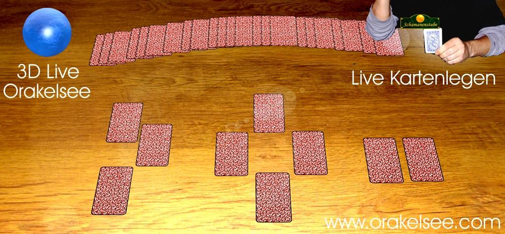 Live Kartenlegen 3D