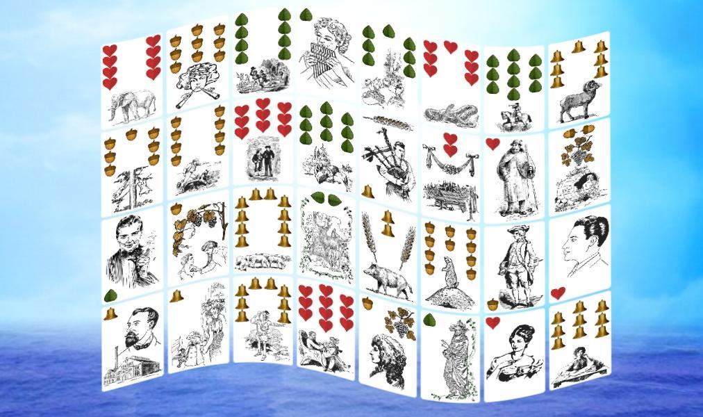 Schamanen Orakel Kartenlegung