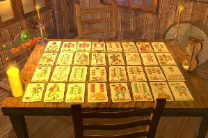 Live Kartenlegen am Orakelsee