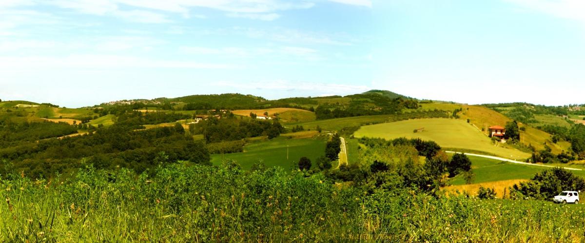 Piemont Landschaft erleben