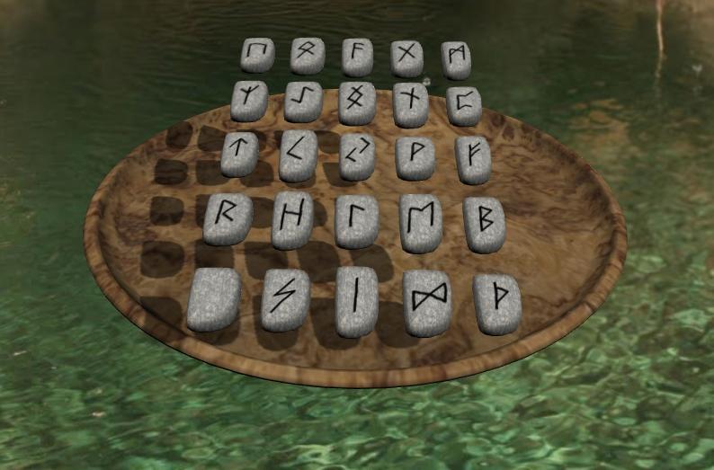 Die Schale der Runen