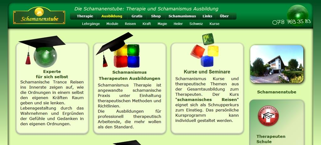 Schamanenstube Website