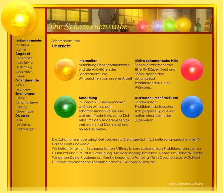 Homepage Schamanenstube