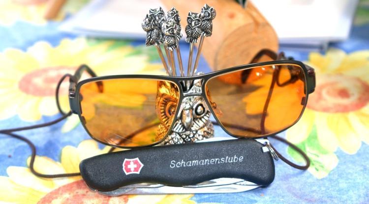 Schamanen Sonnenbrille