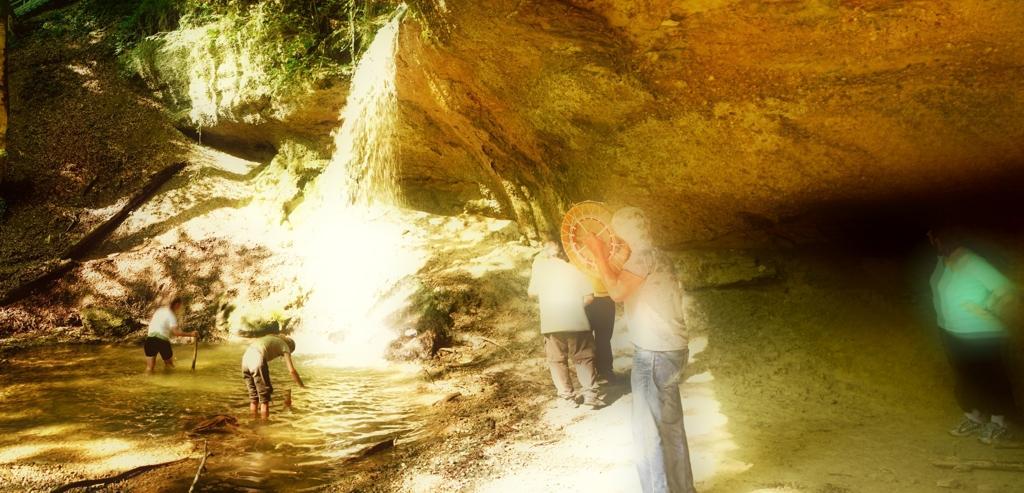 Wasserfall Trommeln