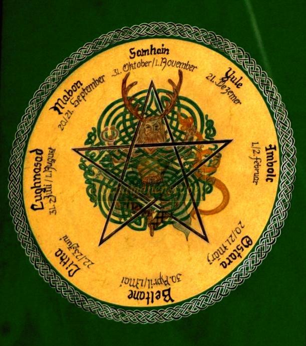 keltische jahreskreis feste kalender der natur. Black Bedroom Furniture Sets. Home Design Ideas