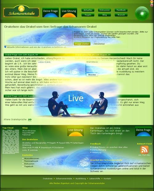 Live Orakel am Orakelsee und neue Feedback Möglichkeiten