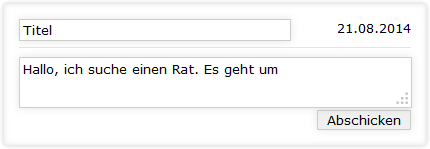 Ratsuche