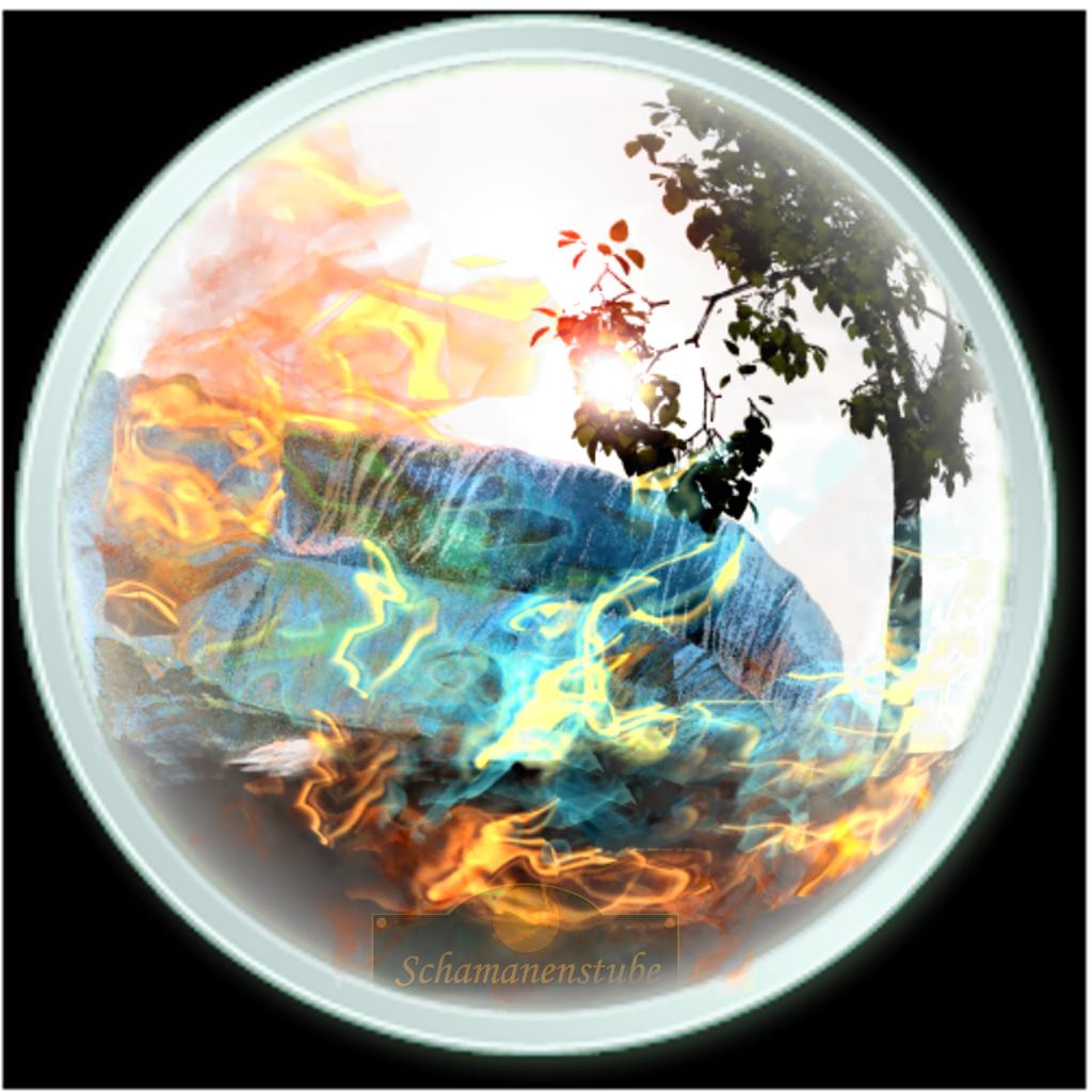 Vier Elemente - four elements