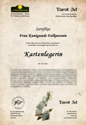 Zertifikat Kartenlegen